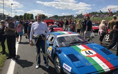 Pirelli Ferrari formula classic Brands Hatch 13th August 2017