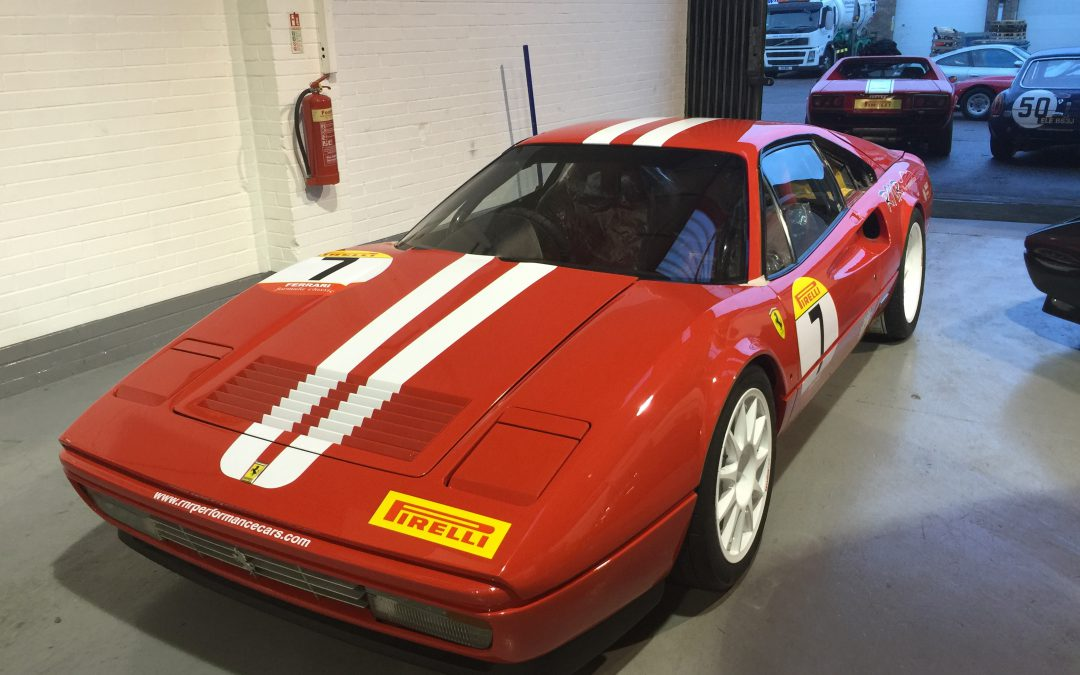 Ferrari 328 Race Car Refresh