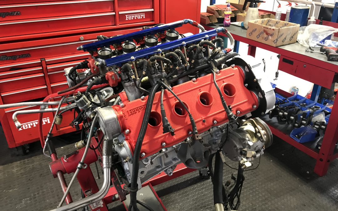 Ferrari F40 Race Car Engine Rebuild