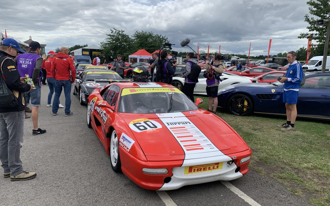 Pirelli Ferrari Formula Classic – Croft 20th-21st July 2019 – Round 7, 8 & 9