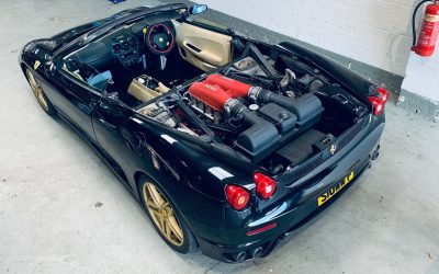 Ferrari 430 Spider Roof Repair