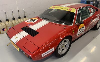 Ferrari 308 GT4 Misfire Diagnosis With Thermal Imager